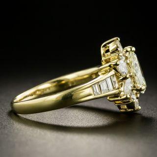 Estate .73 Carat Pear-Shape Diamond Ring