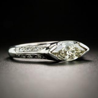 Estate .97 Carat MarquiseDiamond Ring