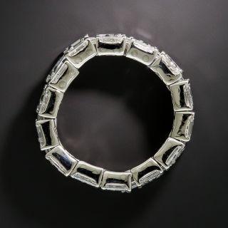 Estate Baguette Diamond Flexible Band, Size 6-