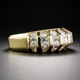 Estate Beveled Diamond Band