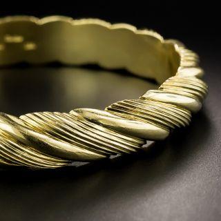 Estate Cartier Bangle Bracelet - 2