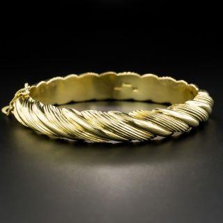 Estate Cartier Bangle Bracelet