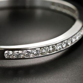 Estate Diamond Bangle Bracelet