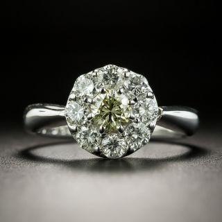 Estate Diamond Cluster Ring - 2
