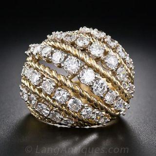 Estate Diamond Cocktail Ring - 2