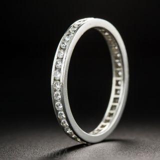 Estate Diamond Eternity Band - Size 7 - 2