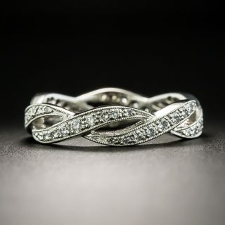 Estate Diamond Eternity Wedding Band - 2