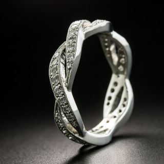 Estate Diamond Eternity Wedding Band