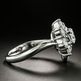 Estate Diamond Flower Ring