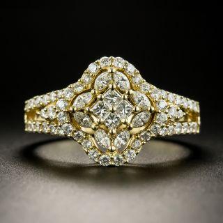 Estate Fancy Mixed-Cut Diamond Ring - 2