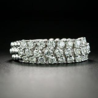 Estate Flexible Diamond Band Ring