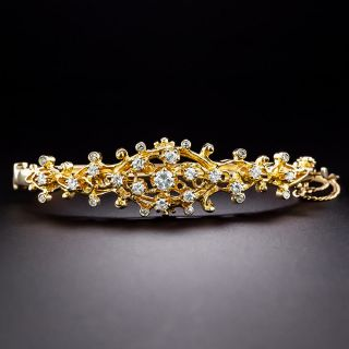 Estate Free-Form Diamond Bangle - 1