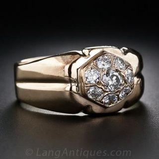 Estate Gent's Diamond Ring