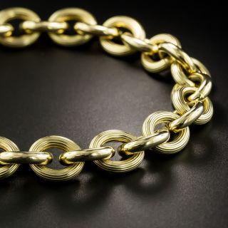 Estate Italian Gold Link Bracelet