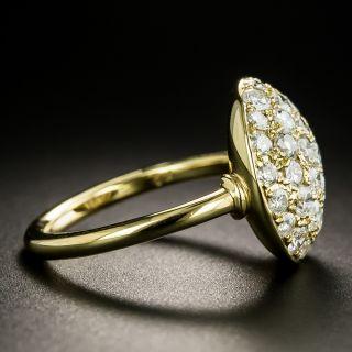 Estate Pave Diamond Dome Ring
