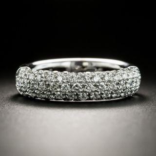 Estate Pavé Diamond Wedding Band, SIze 5 1/4 - 3