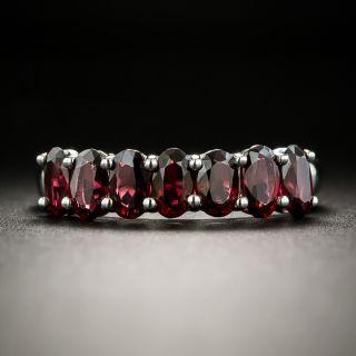Estate Seven-Stone Garnet Ring - 2