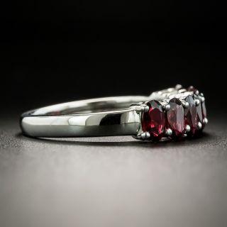 Estate Seven-Stone Garnet Ring