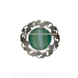 Estate Silver Scottish Pin