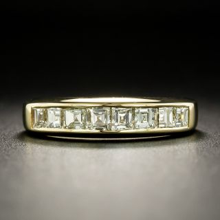Estate Square-Cut Diamond Band - 2