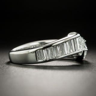 Estate Trillion-Cut Diamond Bypass Ring