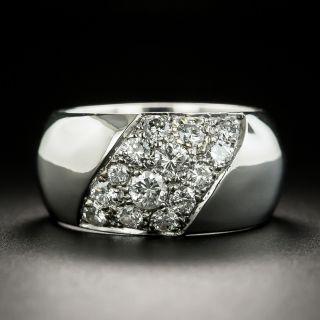 Estate Wide Diamond Band - 3