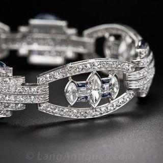 Extraordinary Art Deco Bracelet - 1