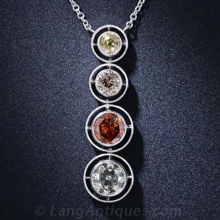 Fancy Colored Diamond Pendant