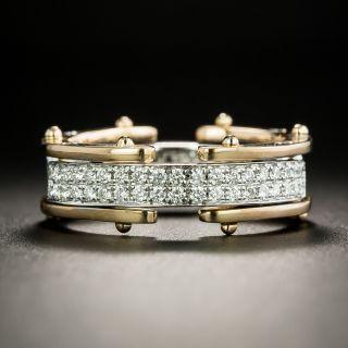 Flexible Two-Tone Diamond Band, Size 7 - 2