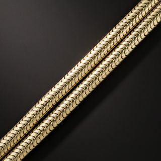 Forstner Snake Link Bracelet