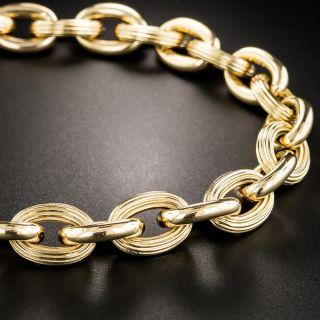 French 18K Rose Gold Bracelet - 2