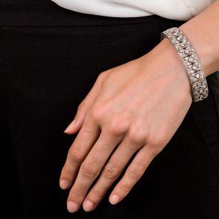 French Edwardian Diamond Bracelet