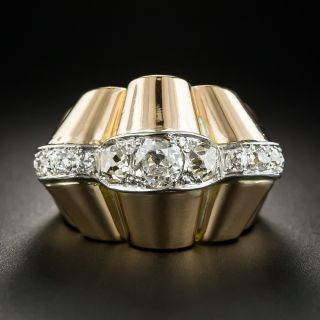 French Retro Diamond Ring - 1