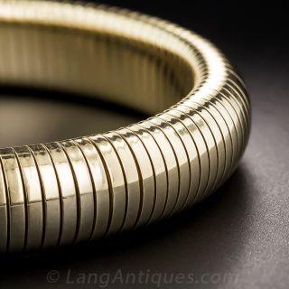Gas Pipe Bangle Bracelet By Forstner