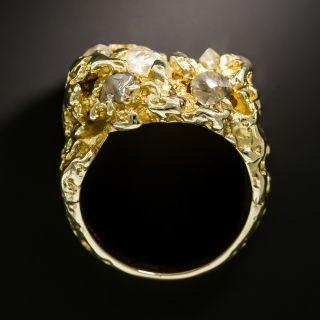 Gent's Estate Rough Diamond Ring