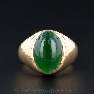 Gents Jade Ring