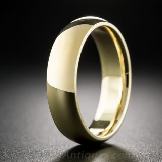 Gents Special Order Comfort Fit Wedding Band