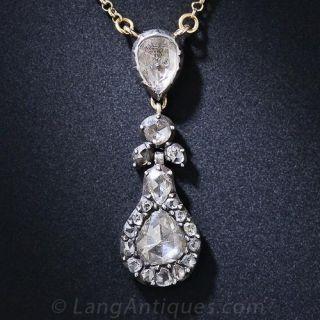 Georgian Diamond Necklace - 1