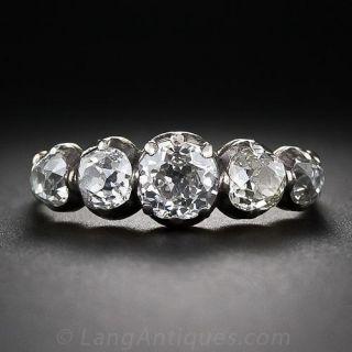 Georgian Five-Stone Diamond Ring