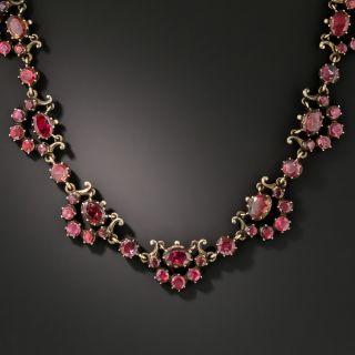 Georgian Garnet Necklace - 2