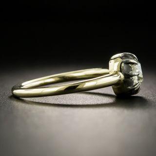 Georgian Style .67 Carat Old Mine-Cut Diamond Engagement Ring