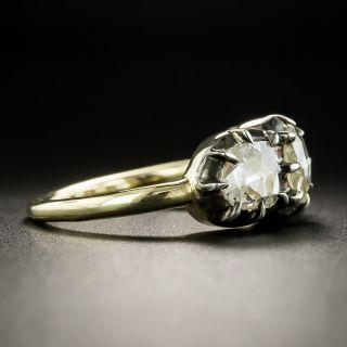 Georgian 'Style' Three-Stone Rose-Cut Diamond Ring