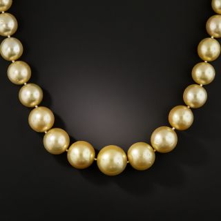 Golden South Sea Pearls - 1