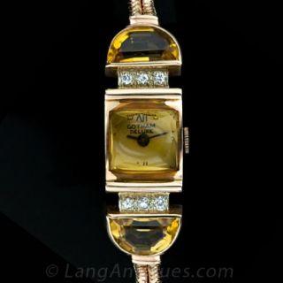 Gotham Retro Bracelet Watch Main View