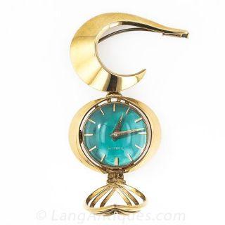 Groovy Gubelin Ladys Lapel Watch