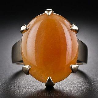 Gump's Orange Jade Ring
