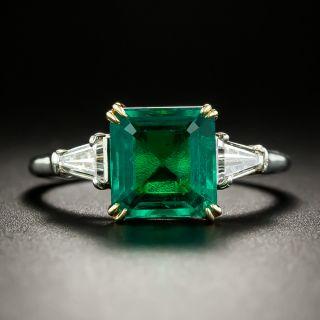 Harry Winston 1.97 Carat Emerald and Diamond Ring - 6