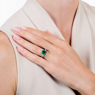 Harry Winston 'Gem' 1.97 Carat Emerald and Diamond Ring - Minor Enhancement