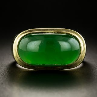 Imperial Burma Jade Ring - 1