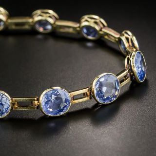 Imperial Russian Sapphire Bracelet - 2